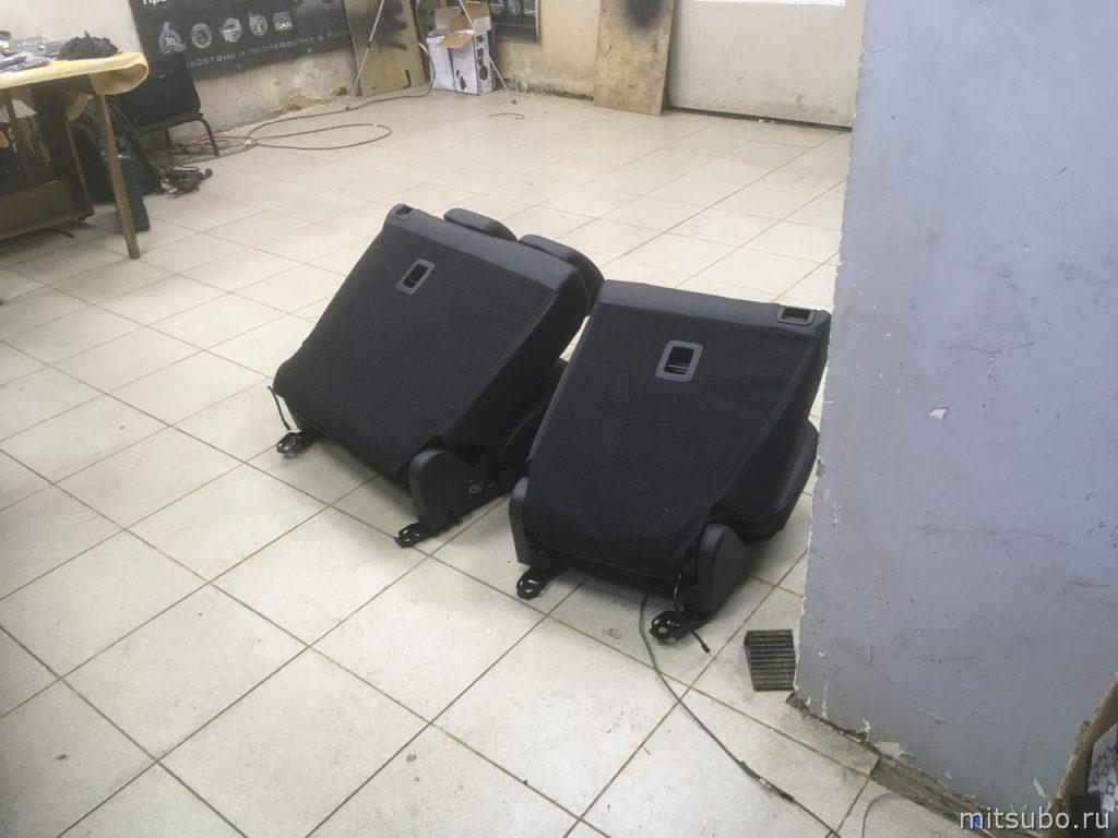 Снятые сиденья